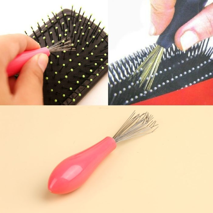 Hairbrush cleaner tool