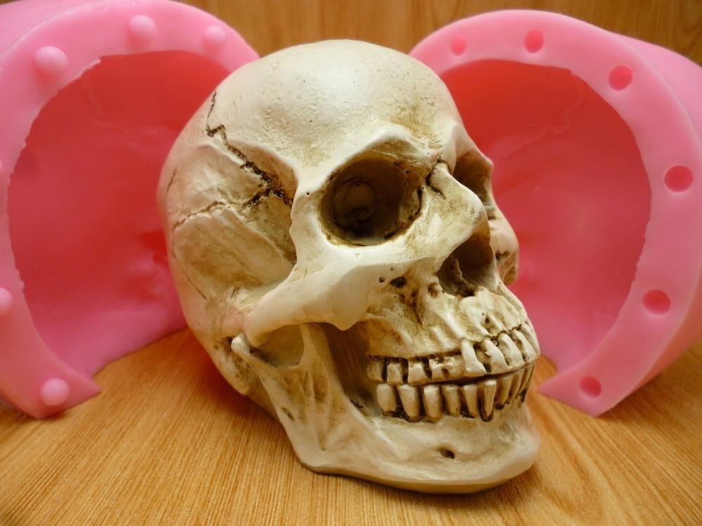 Silicone Skull Mold