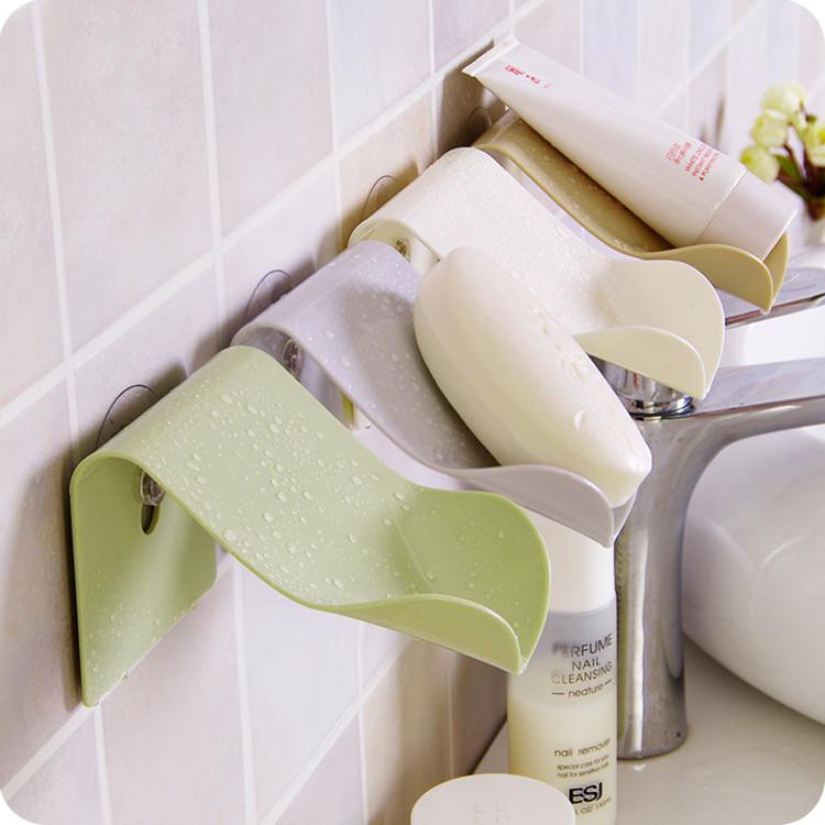 Bathroom Suction Shelf