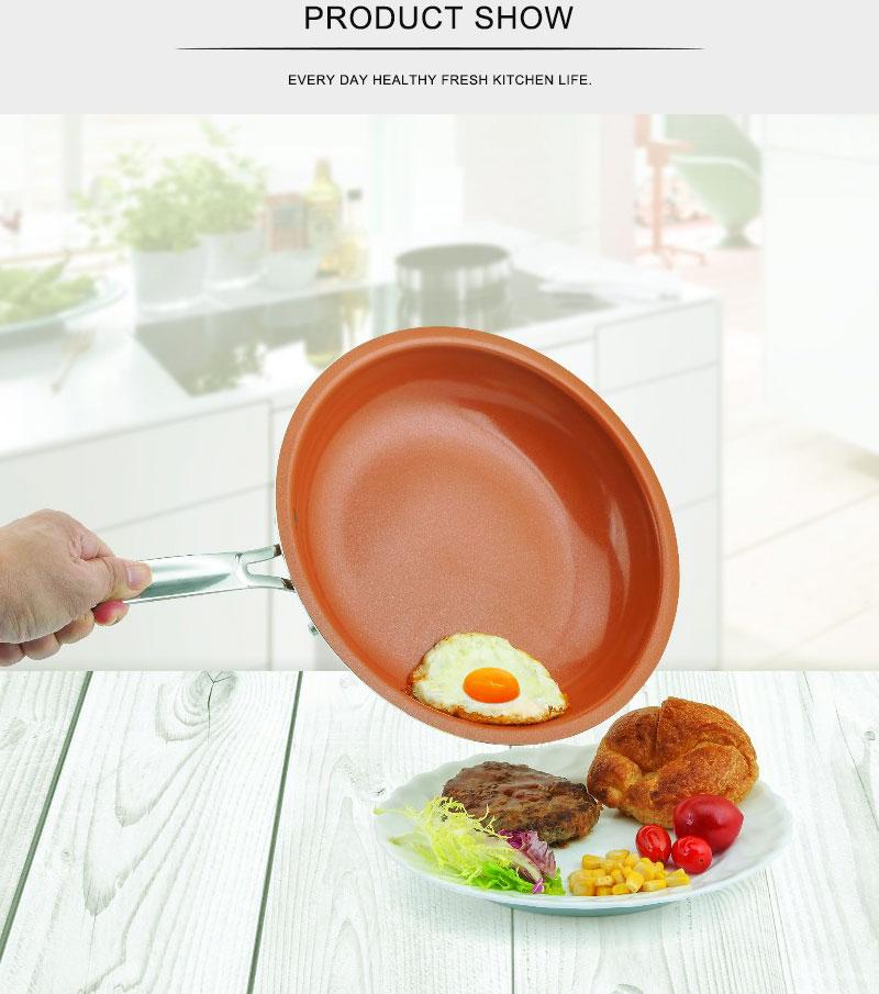 Non-stick Copper Frying Pan