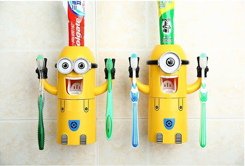 Minion Toothpaste Dispenser