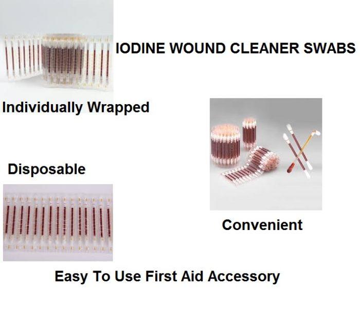 Iodine Wound Cleaner Swab