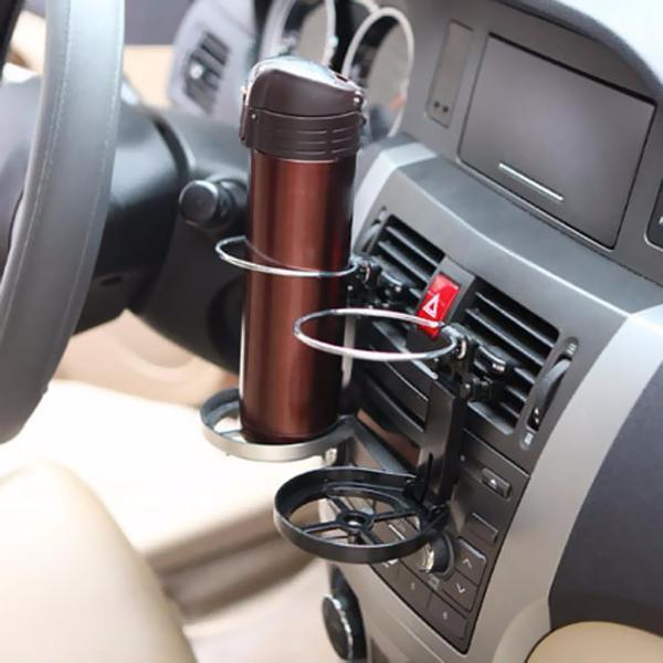 universal car cup holder mini car fan clip on car fan and. Black Bedroom Furniture Sets. Home Design Ideas