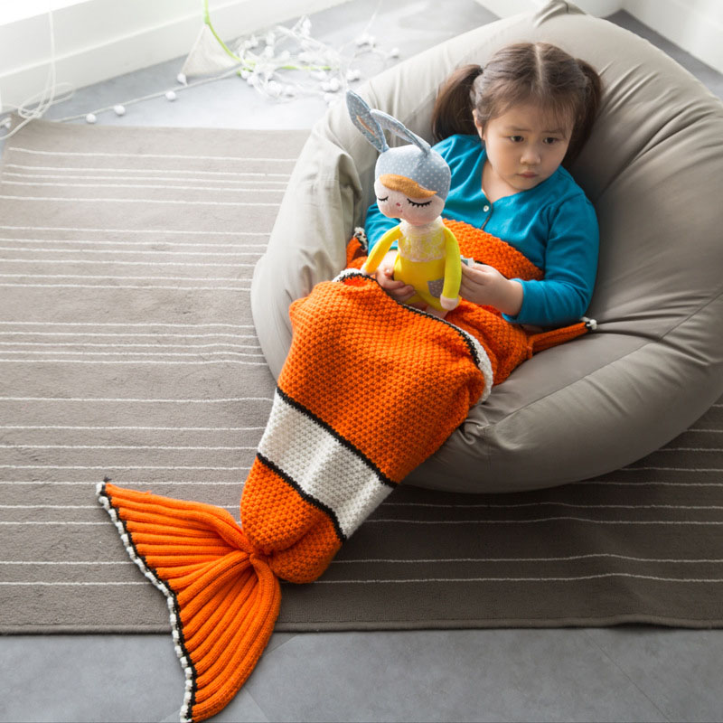 Finding Nemo Fishtail Blanket