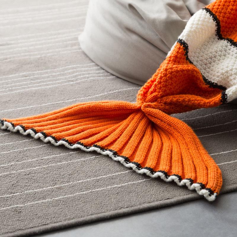 Finding Nemo Fishtail Blanket Childrens Mermaid Blanket