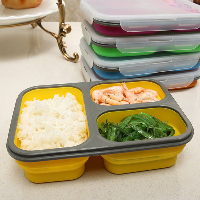 Silicone Lunch Box