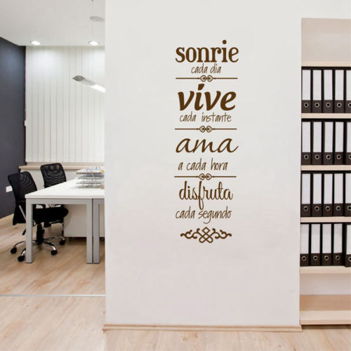 Spanish House Rules Wall Sticker