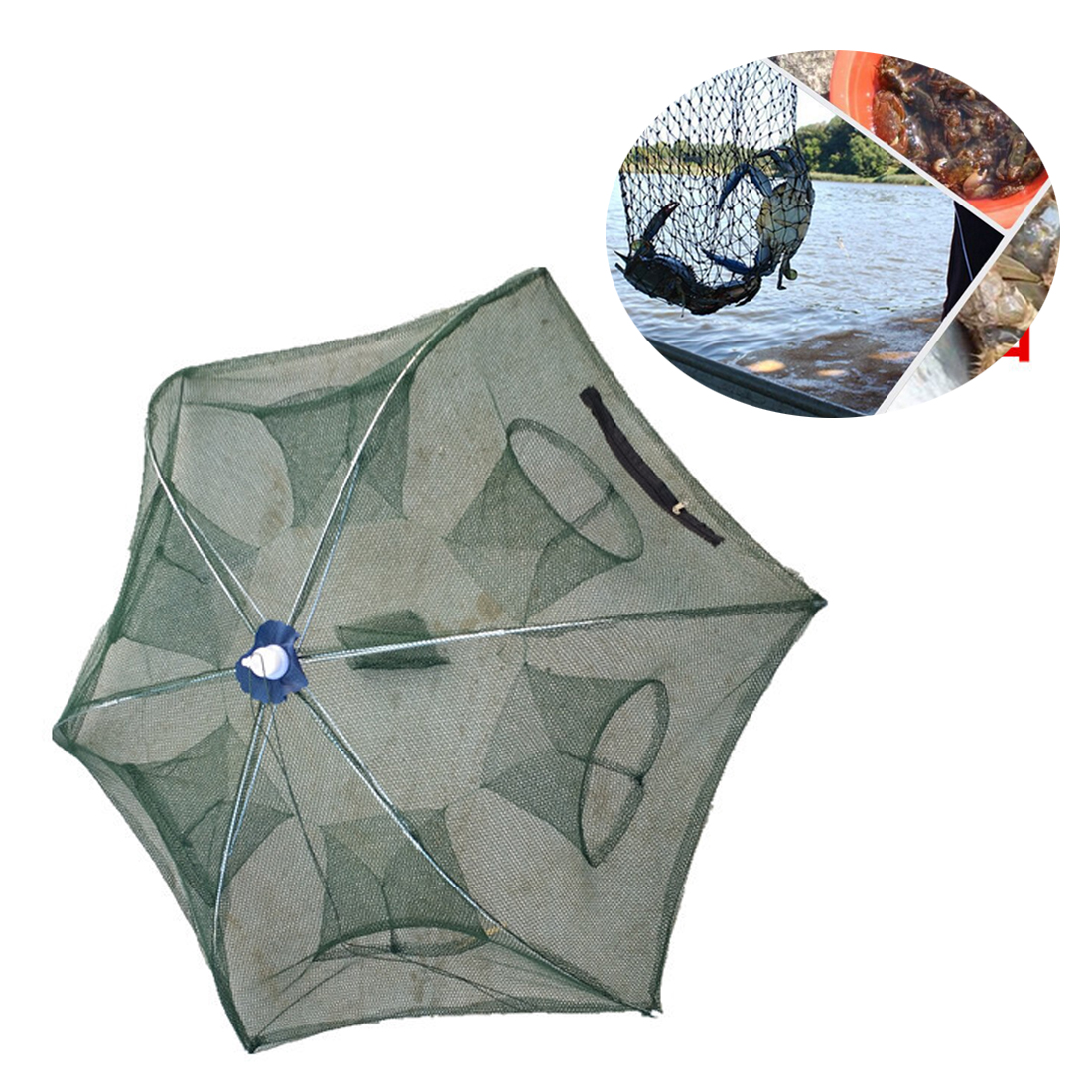 Automatic Crawfish Trap Cast Net