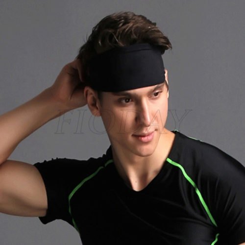 Elastic Sports Headbands For Men Women Head
