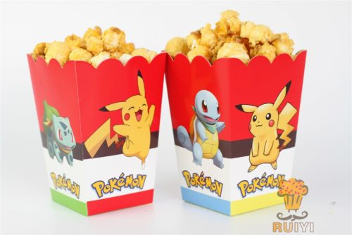 Pokemon Go Pikachu Popcorn Box (Set of 6)
