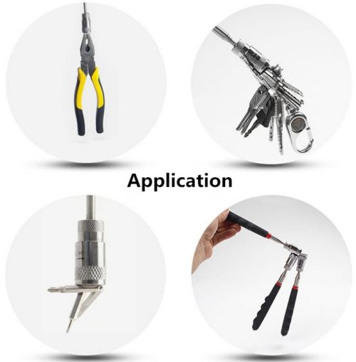 Magnetic LED Telescopic Tool