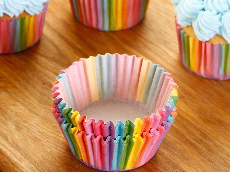 Rainbow Cupcake Paper Liner (Set of 100)