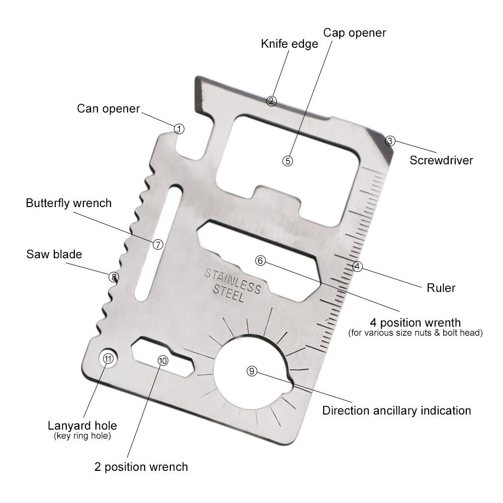 Wallet Multi Tool