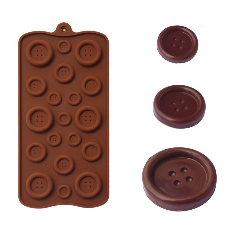 Button Mold Silicone Molds Button Moulds For Cake Decorating