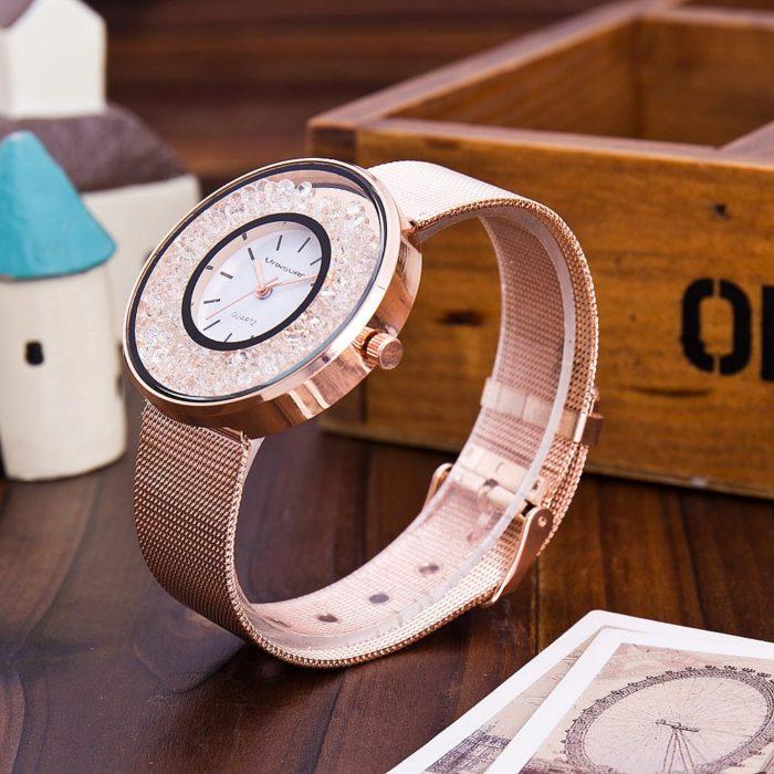 Stainless Steel Band Quartz Watch