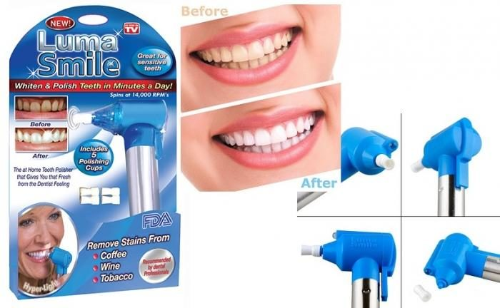 Tooth Polisher & Whitener