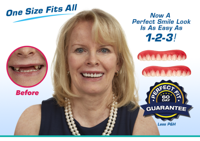 Reusable Veneer Teeth