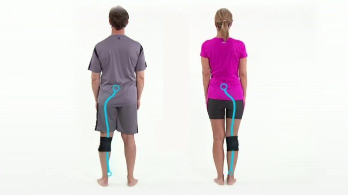 Knee Brace - Helps Relieve Lower Back Pain and Pain from Sciatica