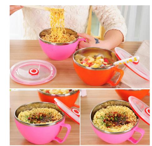 Microwave Ramen Noodle Cooker