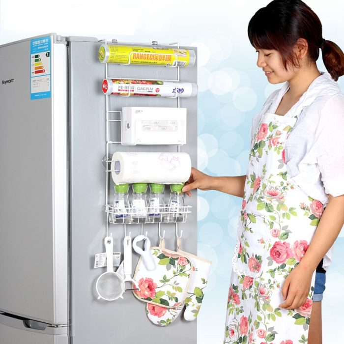 Refrigerator Suction Shelf