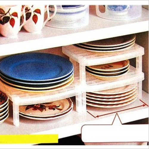 Overlapping Plate Rack