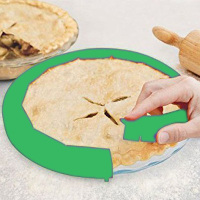 Silicone Pie Crust Protectors