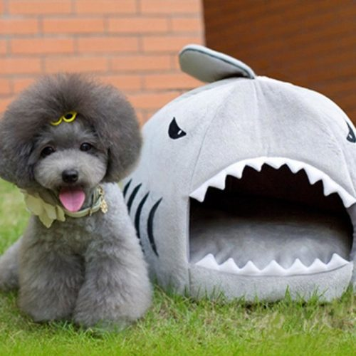 Shark Themed Pet Sleeping Bag