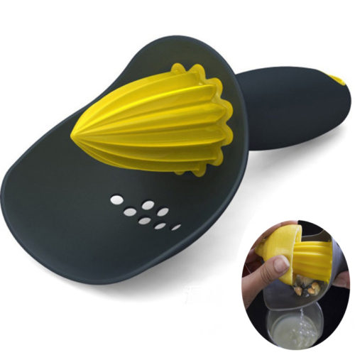 2-in-1 Citrus Juicer With Strainer