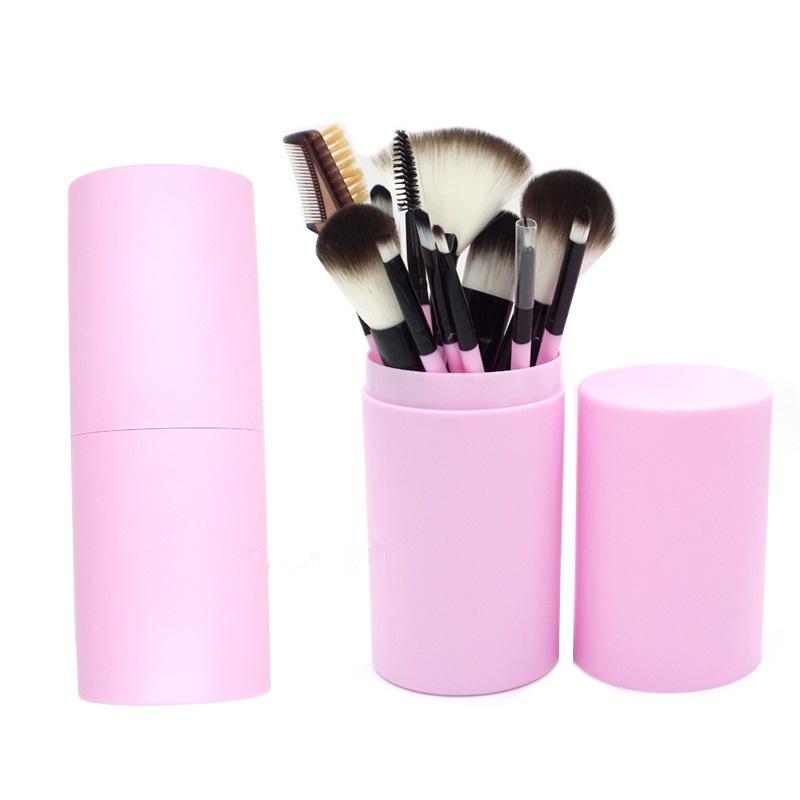 12 pcs makeup brushes