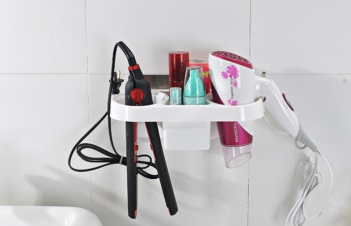 wall mounted bathroom organizer