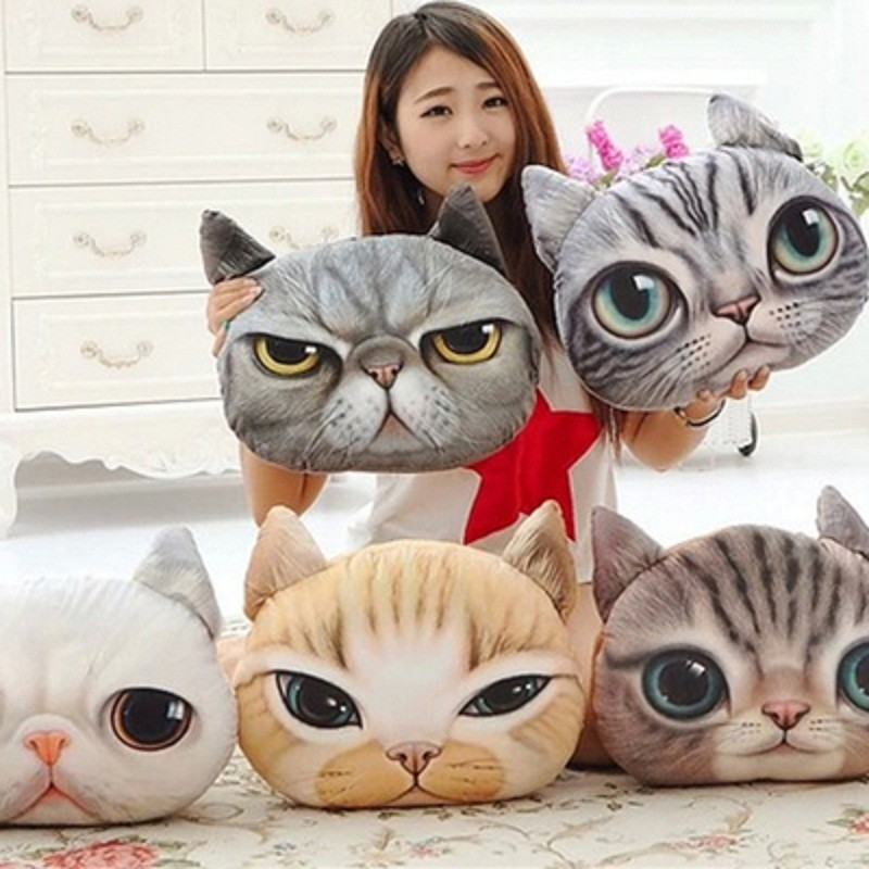 Stuffed 3D Pet Cushion