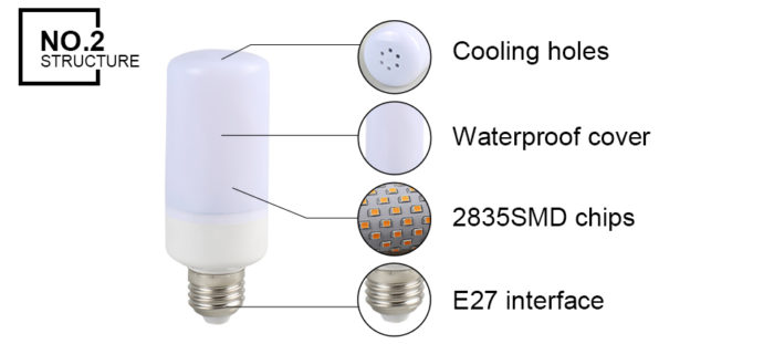 Flame Flickering Led Bulb