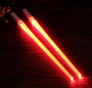 Light Up Star Wars Light Saber Themed LED Chopsticks