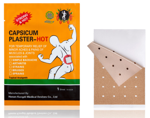 Capsicum Pain Relief Patches