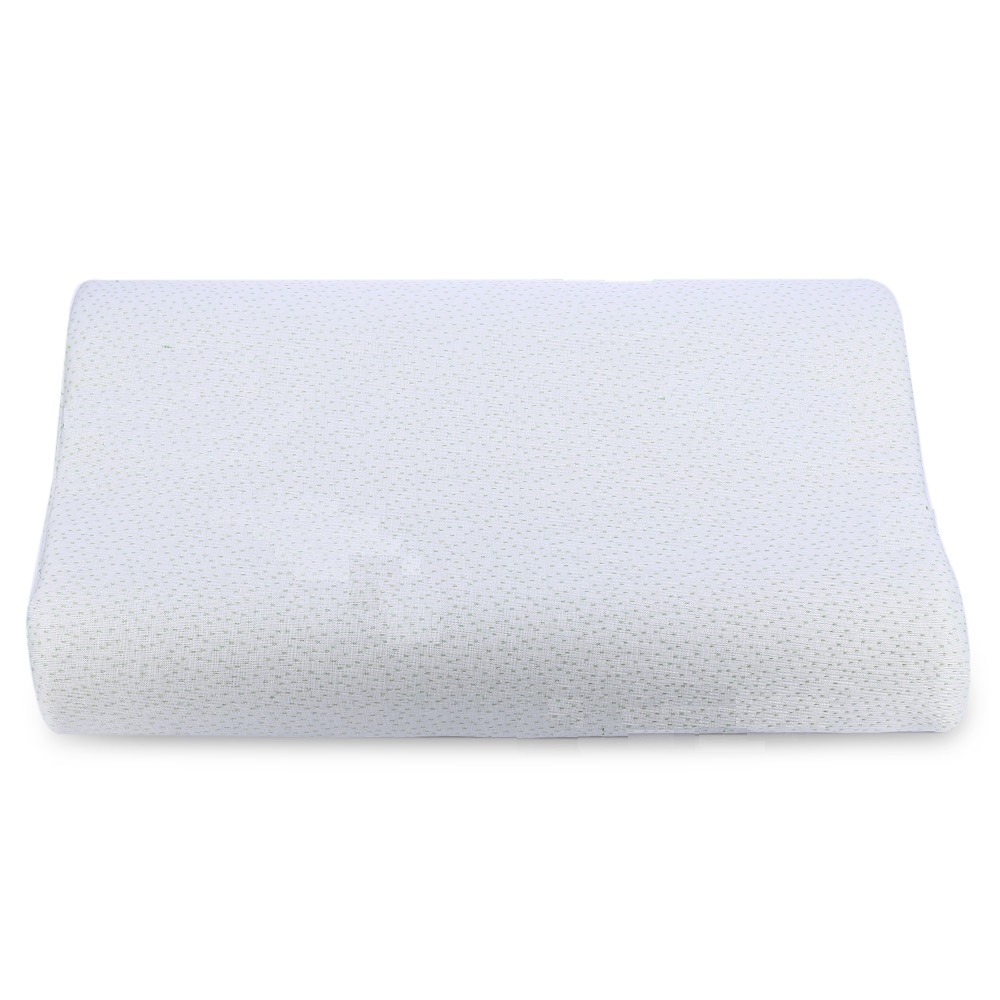 neck support memory foam pillow life changing products. Black Bedroom Furniture Sets. Home Design Ideas