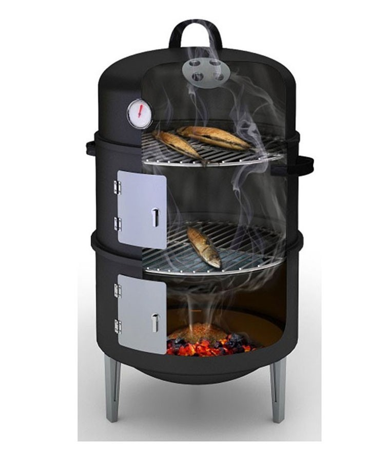 3-in-1 Outdoor Smoker / BBQ / Grill