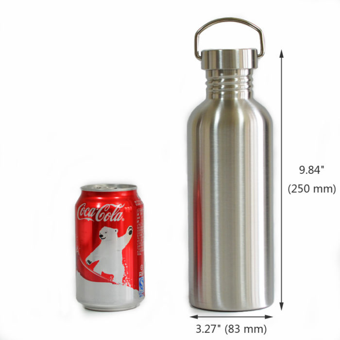 Stainless Steel Leak-Proof Sports Flask