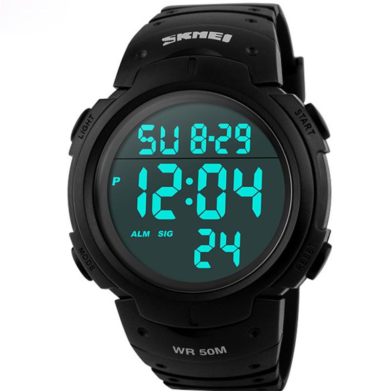 LED Digital Sports Watch