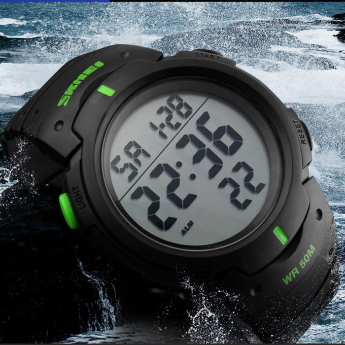 LED Digital Sports Watch