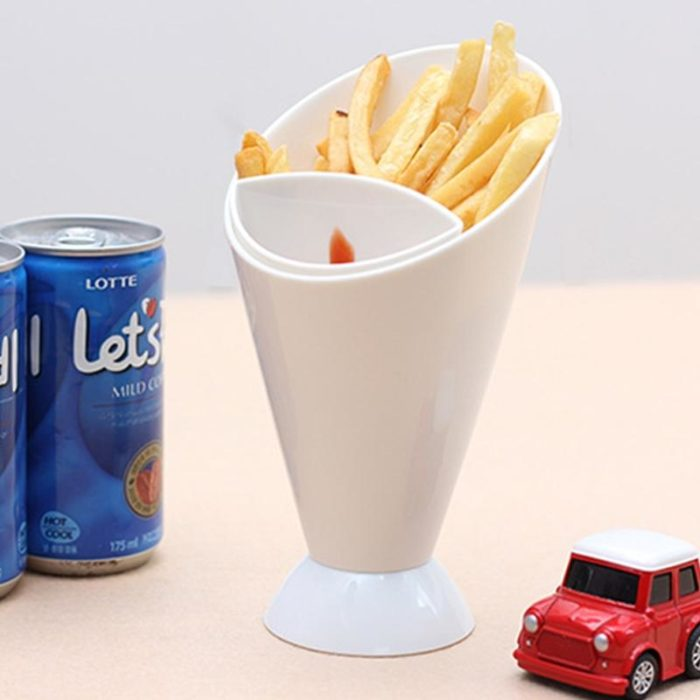 Fries Cone & Dipping Cup