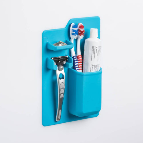 Magic Stick On Bathroom Organizer Caddy