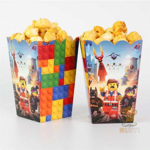Lego Land Popcorn Boxes