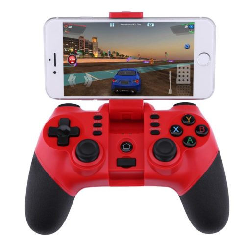Wireless Bluetooth Game Controller With Smartphone Stand