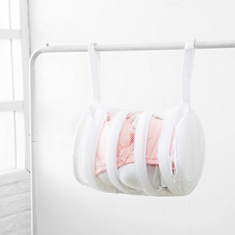 2-n-1 Washing/Drying Mesh Laundry Bag