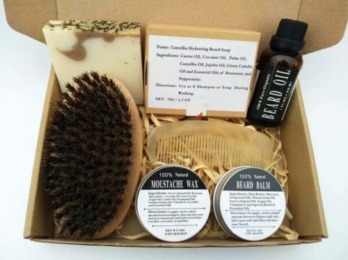 All Natural Ingredients Beard Care Kit