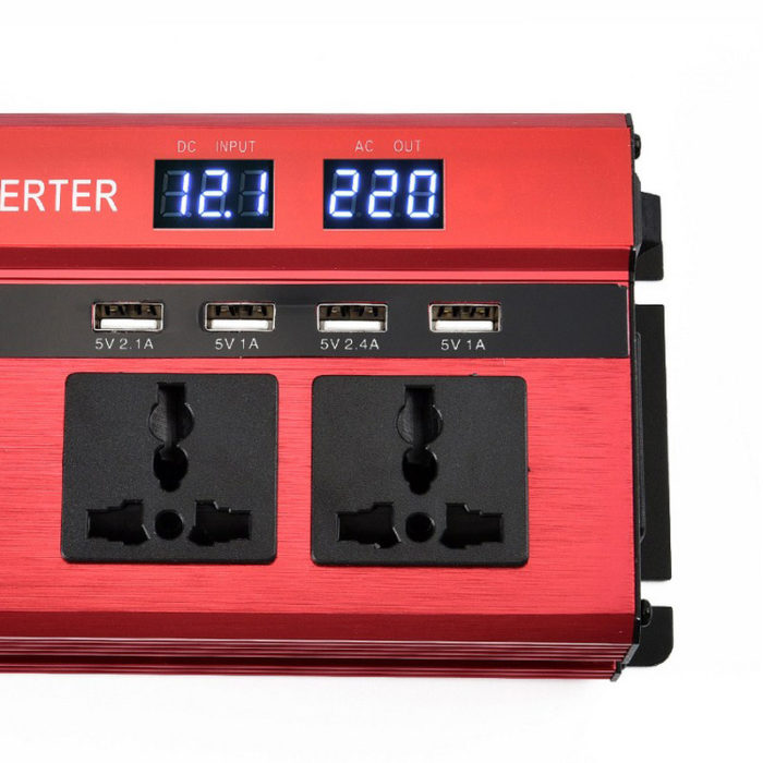 2000W Car Power Inverter with 4 USB Ports