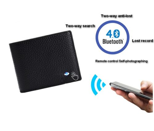 Elegant Smart Leather Wallet