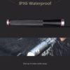 Baseball Bat Shaped Multi Functional LED Flashlight