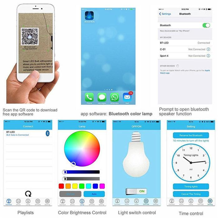 Bluetooth LED Bulb