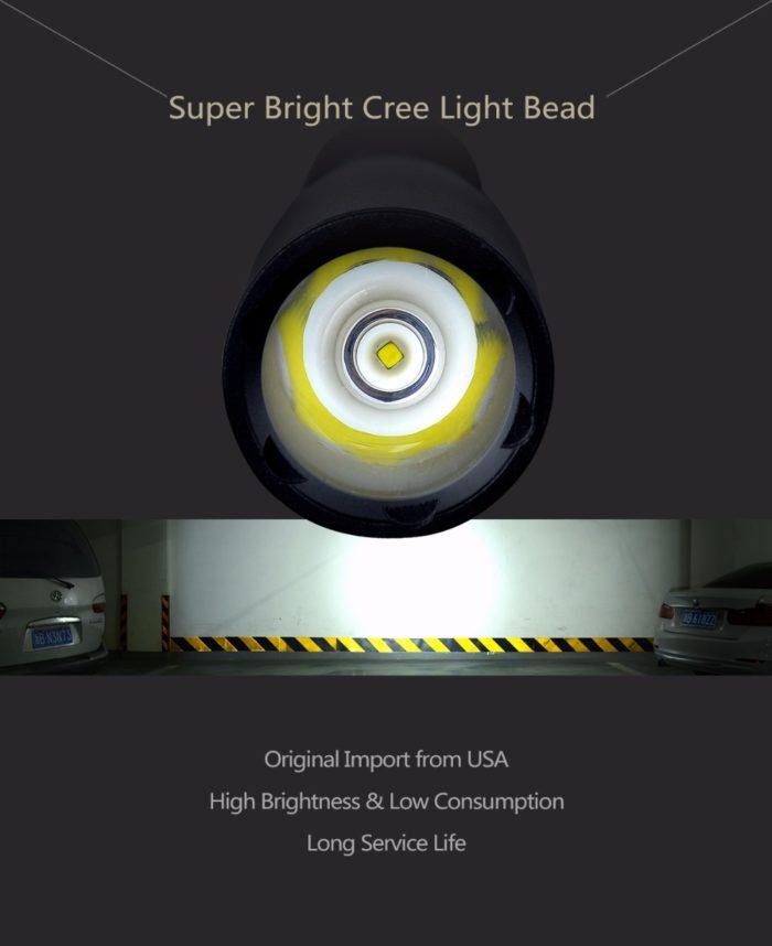 Baseball Bat Shaped Multi Functional LED Flashlight Flashlight